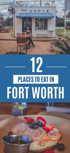 From the iconic rooftop of upscale Reata to a hole in the wall delicious paleteria, here are the best places to eat in Fort Worth, Texas. Ft Worth Tx, Fort Worth Texas, Food Places, Best Places To Eat, Fort Worth Restaurants, Places To Eat Breakfast, Fort Worth Stockyards, Ice Creamery, Texas Restaurant