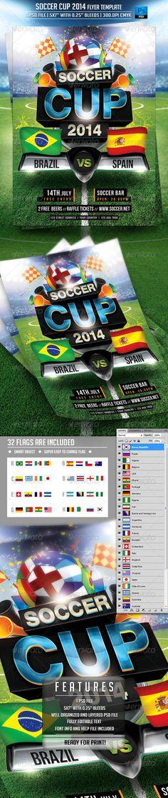 Soccer Memory Mate Template  Mm  Flyer Template Adobe