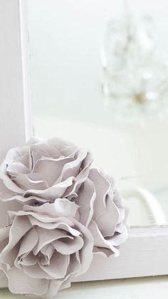 diy faux porcelain roses, chalk paint, crafts, diy, flowers