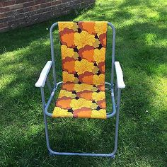 New! Vintage/Retro Inspired Brown Folding Camping/Picnic Chairs-Made To Order