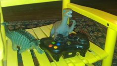 Mr. Blue Eyes is not sharing the Xbox