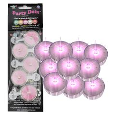 Party Dots Pink - $16.95 See more at  http://myhensparty.com.au/