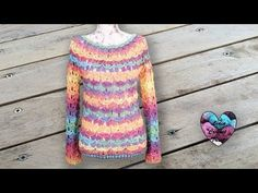 Pull motifs relief toutes tailles - YouTube