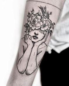 Tattoos for Women Future Tattoos, Love Tattoos, Beautiful Tattoos, Body Art Tattoos, Small Tattoos, Tattoos For Women, Tatoos, Tattoo Bunt, Big Tattoo