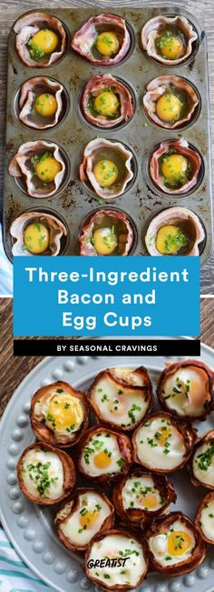 Breakfast is as easy as 1-2-3. #greatist https://greatist.com/eat/three-ingredient-breakfast-recipes