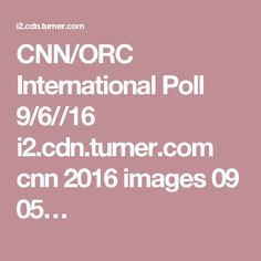 CNN/ORC International Poll 9/6//16 i2.cdn.turner.com cnn 2016 images 09 05…