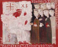 Елена Черкасова. Ангел и мироносицы