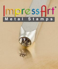 Metal Design Stamp By Impressart 3mm Whimsy by TDSONLINESTORE, $8.00