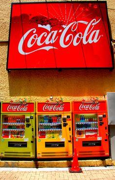 tokyo coca cola wall