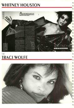 The Model Archives of Marlowe Press  Wilhelmina (New York)1987