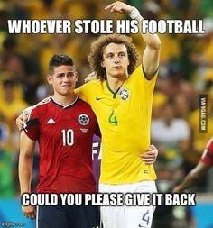 Show me who stole your football