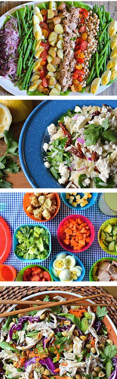 Most people think of salad as a side dish, but this month we're serving it up as a meal for the entire family. Made with fresh and local ingredients and a few extras from Asia and the Mediterranean, we've got the perfect combination of salads to serve the family, the kids and your guests any night.
