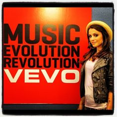 Cher Lloyd at VEVO HQ where she performed #WantUBack
