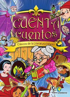 """CUENTA CUENTOS """"Clasicos de la literatura infantil""""  Un libro indispensable en al biblioteca de cualquier niño proqeu fortalece los habitos de lectura, fomenta la imaginacion y gracias a su coleccion de cuentos en ingles estimula el aprendizaje del idioma extranjero de manera ludica y comprensible"""