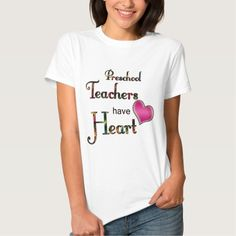 Preschool Teachers Have Heart T Shirt, Hoodie Sweatshirt