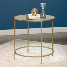 $75 Sauder International Round Lux End Table | AllModern