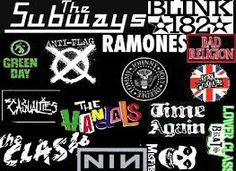 pop punk band logos - Google Search