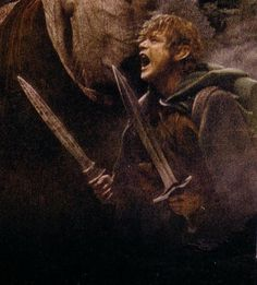"""That's for Frodo! That's for the Shire! & that's for my old Gaffer!"""