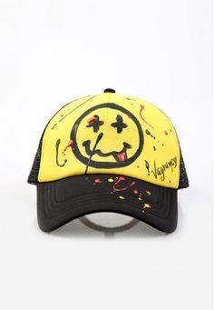 emoji cap #handmade #cap #patch #vagrancylifestyle