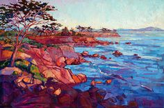 Monterey Painting - Layers Of Monterey by Erin Hanson