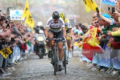 Peter Sagan of Slovakia and Tinkoff up the Oude Kwaremont during the 100th edition of the Tour of Flanders from Bruges to Oudenaarde on April 3, 2016 in Bruges, Belgium. #rvv #rm_112