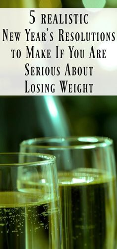 5 New Years resolution to make if you're serious about losing weight