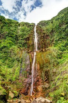 "breathtakingdestinations:  ""Carbet Falls - Guadeloupe (by Selden Vestrit)  """