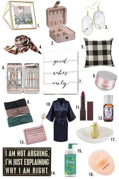 Get these small holiday gifts for women that are perfect for stocking stuffers a. Cool Gifts For Women, Christmas Gifts For Women, Gifts For Teens, Gifts For Mom, Pink Christmas, Holiday Gift Guide, Holiday Gifts, Stocking Stuffers For Women, Little Presents