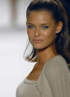 Glamour Girls...Bianca Balti...beauty and cosmetics (makeup)