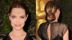 #TheList: Holiday Hair. Angelina Jolie
