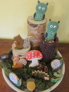 Enchanted woodland party
