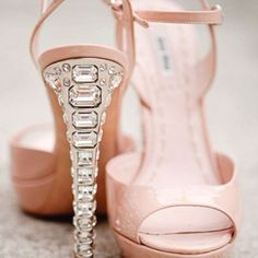 These Jimmy Choo's would be the best wedding shoes if I could actually learn to walk in them!