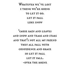 beautiful - let go. posted.