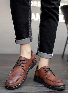 Mens Wingtip Shoes, Loafers Men, Brown Derby, Derby Dress, Formal Shoes For Men, Leather Dress Shoes, Men's Footwear, Urban Style, Shoe Shop