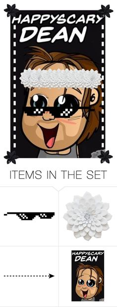 """Open Dean Ambrose Icon"" by pie221153 ❤ liked on Polyvore featuring art"