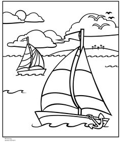 nautical coloring pages free online printable coloring pages sheets for kids get the latest free nautical coloring pages images favorite coloring pages - Boat Coloring Pages