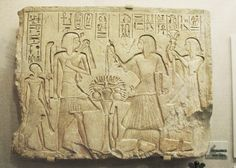 Seti I and Son, the Future Ramses the Great