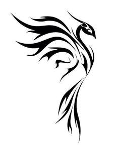 chinese tattoo designs, tattoos for girls, Phoenix Tattoo Feminine, Tribal Phoenix Tattoo, Tribal Dragon Tattoos, Dragon Tattoo For Women, Phoenix Tattoo Design, Tattoos Skull, Forearm Tattoos, Body Art Tattoos, Tattoo Drawings