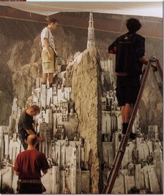 Awesome, Previously-Unseen Photographs From The Filming Of 'Lord Of The Rings' - DesignTAXI.com