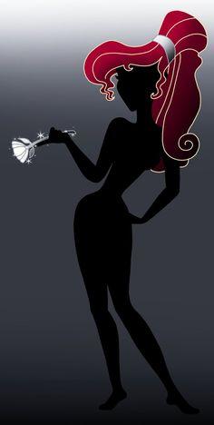 Disney Silhouette: Meg by Willemijn1991 on deviantart {EDL}