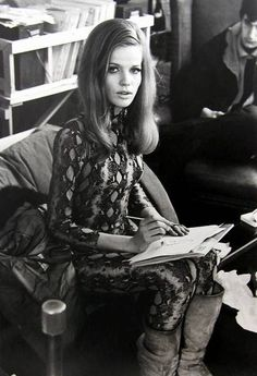 Veruschka 1960s/70s model, vintage fashion and beauty