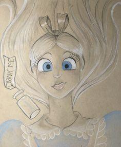 Alice is done!  Pauliendc on instagram