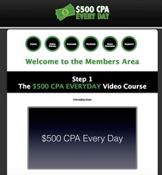 How to make $500 CPA Every Day
