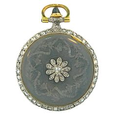Cartier Platinum Gold Art Deco Enamel Sapphire Diamond Pocket Watch Pendant Z Antique Watches, Vintage Watches, Antique Clocks, Art Deco Jewelry, Pendant Jewelry, Daisy Jewellery, Gold Jewellery, Diamond Jewelry, Antique Jewelry