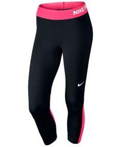 huge selection of c724d d6045 Nike Pro Cool Capri Leggings   Reviews - Pants   Capris - Women - Macy s