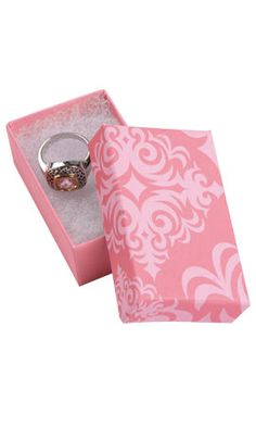 Pink Damask mini Jewelry Box with Cotton for small earrings Jewelry Box with Cotton x x ? >>> Visit the image link more details. Pink Damask, Hoodie Pattern, Disney Tees, Sweaters And Leggings, T Shirt Yarn, Small Earrings, Jewelry Box, Cufflinks, Mini