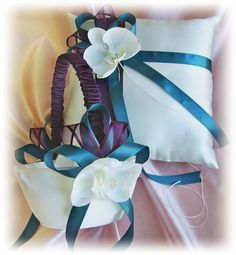 purple and teal weddings - Google Search