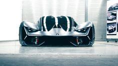 Lamborghini and MIT have teamed up to create a wild and futuristic electric hypercar concept. Learn more about the Lamborghini Terzo Millennio here. Luxury Sports Cars, New Sports Cars, Exotic Sports Cars, Sport Cars, Exotic Cars, Maserati, Bugatti, Ferrari, Lamborghini Diablo
