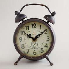 On the Kula Shopping Portal, www.Kula.com/shop, you can earn 4% on ALL CostPlus purchases to be donated to the charity of your choice! Search:Black Vintage-Style Magnet Clock