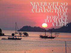 Never get so busy #daretodream #livingthedream #dreamtimesail #travelbysea #lifeisgood #dreambelieveachieve